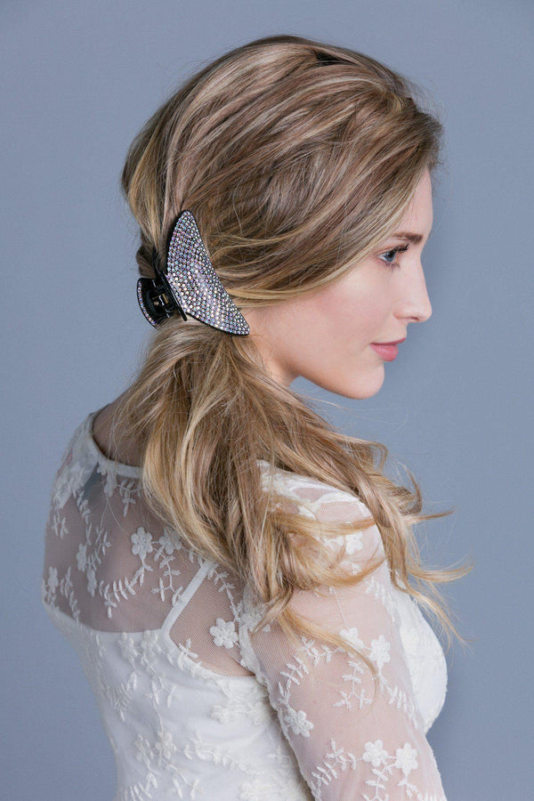 Soho Style Hair Jaws Large Lightweight Crystal Covered Hair Jaw