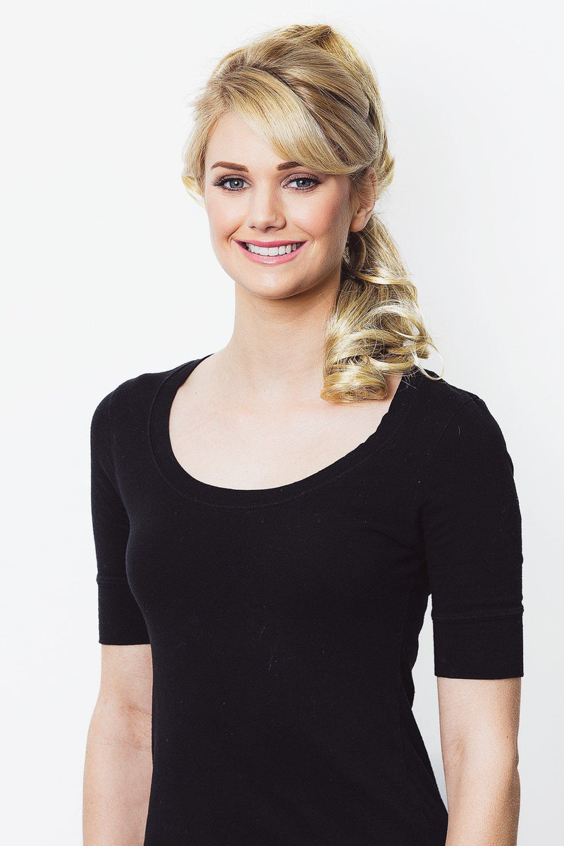 Soho Style Sale S01: Light Blonde Erin - Long & Wavy Ponytail Extension