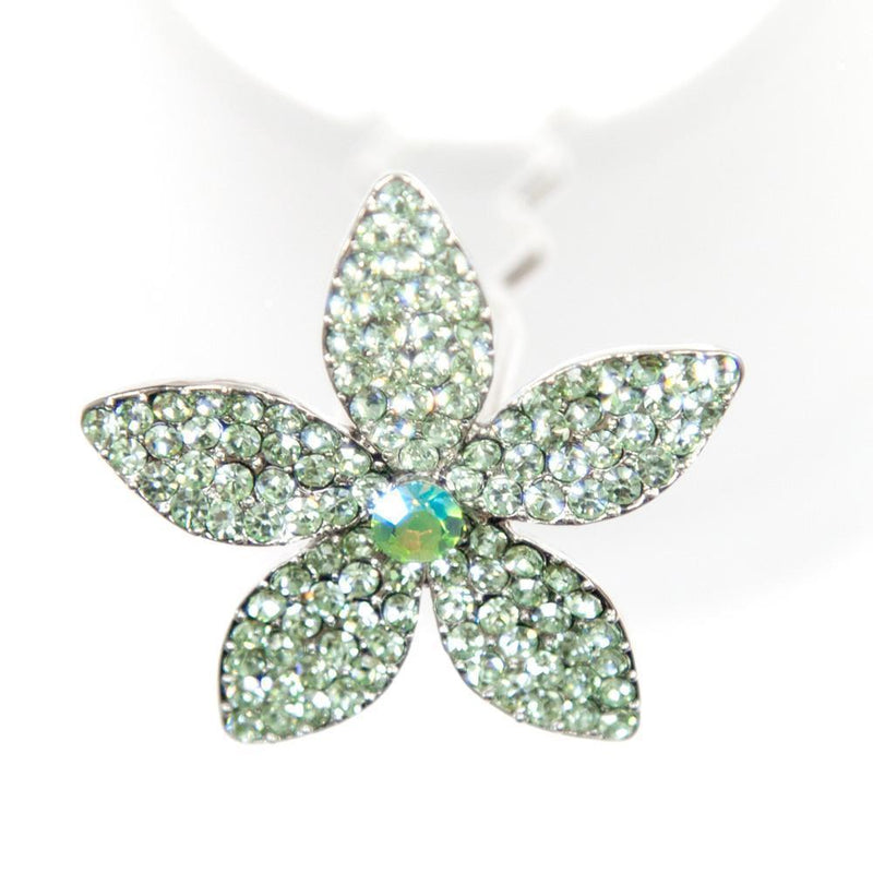 Soho Style Stick Mint Star Lily Hair Stick