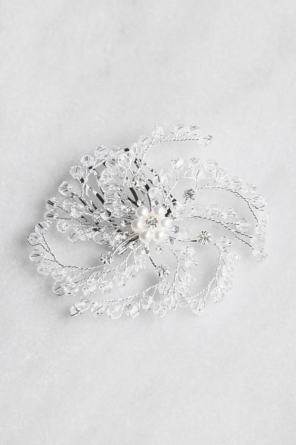 Angel branch Leaf Crystal Comb -  Wedding, Soho Style