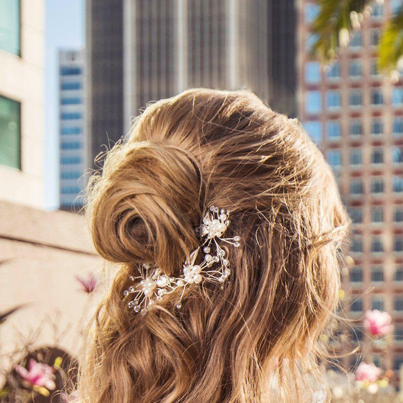 Soho Style Wedding Esme Baby's Breath Hair Stick