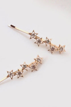 Supernova Crystal Bobby Pin