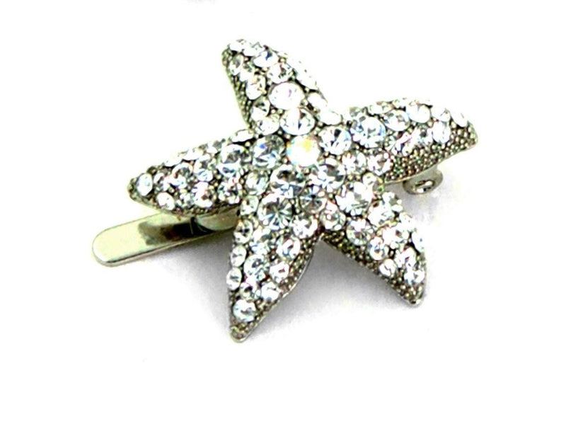 Summer Starfish Magnetic Barrette