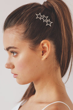 Starlight Crystal Barrette