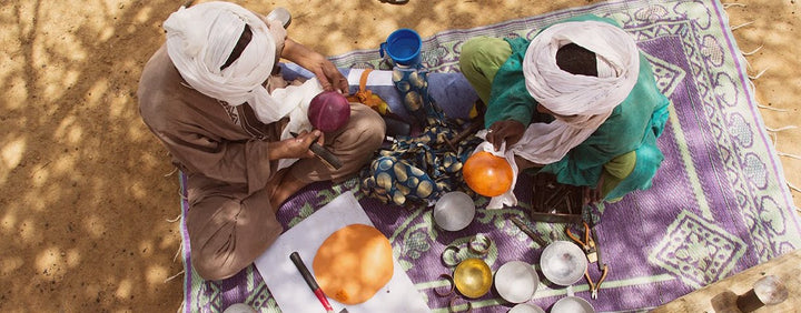 Talismans from Tuareg refugees: a glimpse into their talents