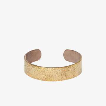 Slim Bracelet in Brass & Grey