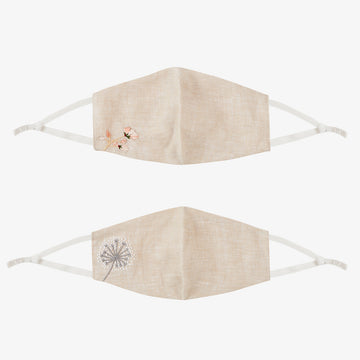 Rose & Dandelion Mask - Set of 2