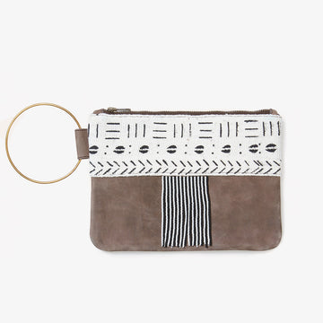 Mudcloth Clutch Bag