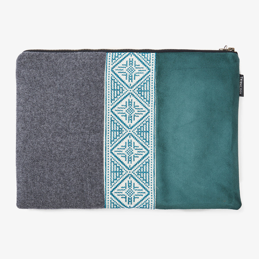 Laptop Sleeve in Turquoise