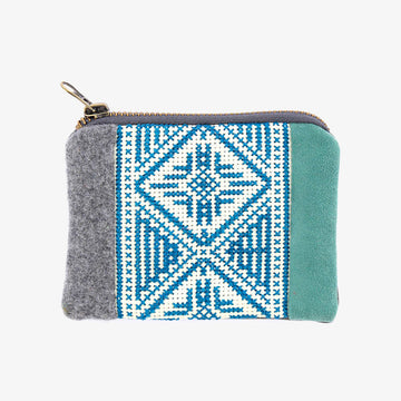 Coin Case in Turquoise