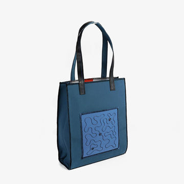 Rectangular Bag in Blue
