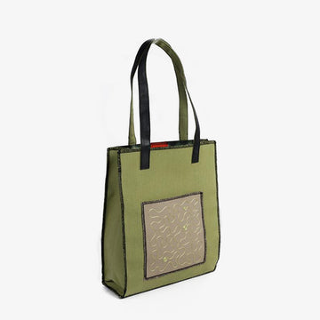 Rectangular Bag in Green