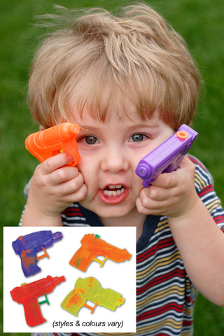 "3.5"" Hot Color Water Gun (styles and colours vary)"