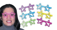 "5"" Super Star Glasses (colours vary)"