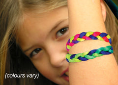 Photo of Neon Braided Bracelet
