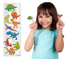 "6"" Dino Stickers Sheet"