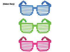 Photo of 5'' Pixel Shutter Shades (colours vary)