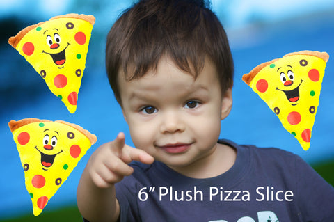 "6"" Plush Pizza Slice"