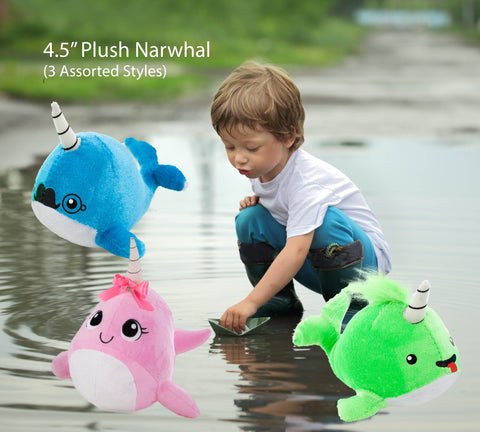 "4.5"" Narwhals (3 assorted styles)"