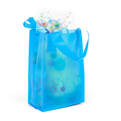 Deluxe Blue Mini Shopper Bag