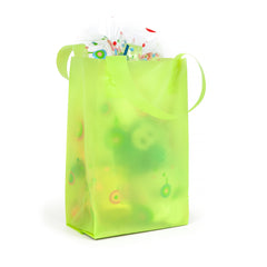 Deluxe Lime Mini Shopper Bag