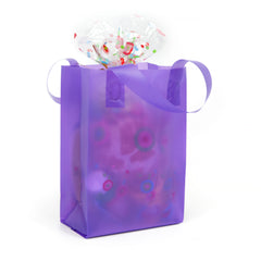 Deluxe Purple Mini Shopper Bag