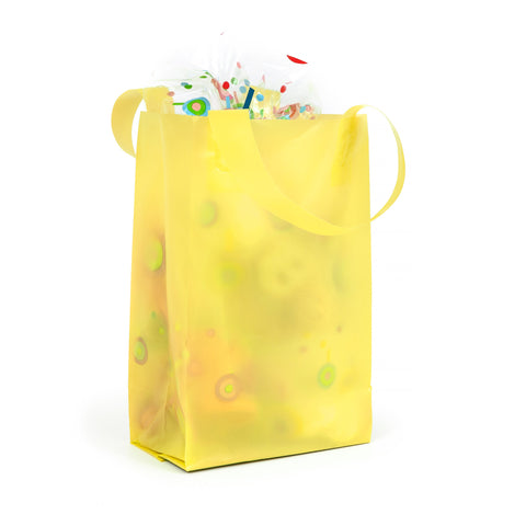 Deluxe Yellow Mini Shopper Bag