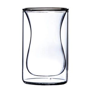 Dual Wall Plum Bottom Sniffer Glass