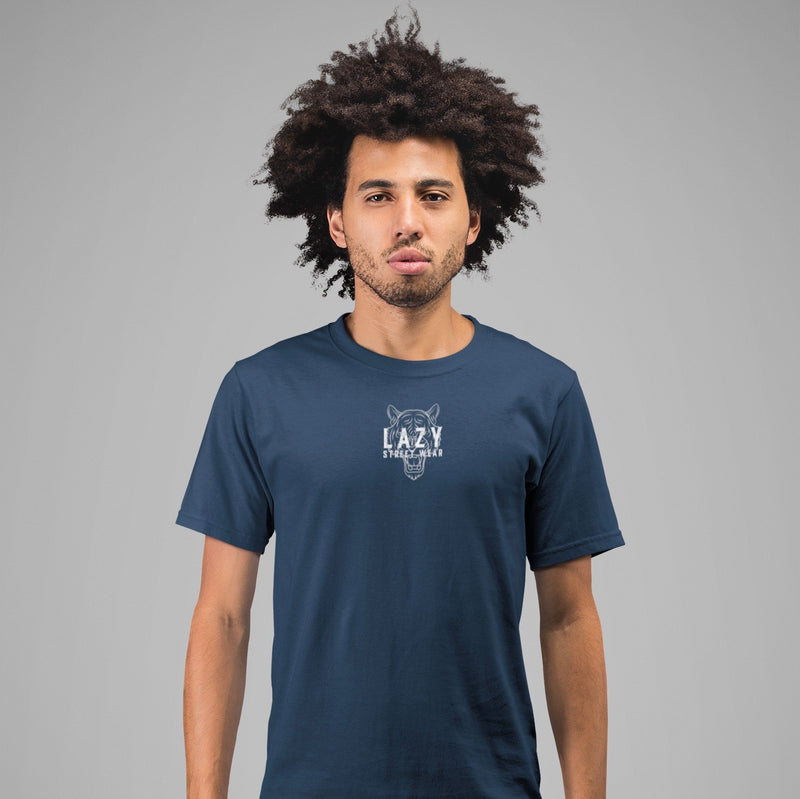 T-SHIRT BLUE TIGER