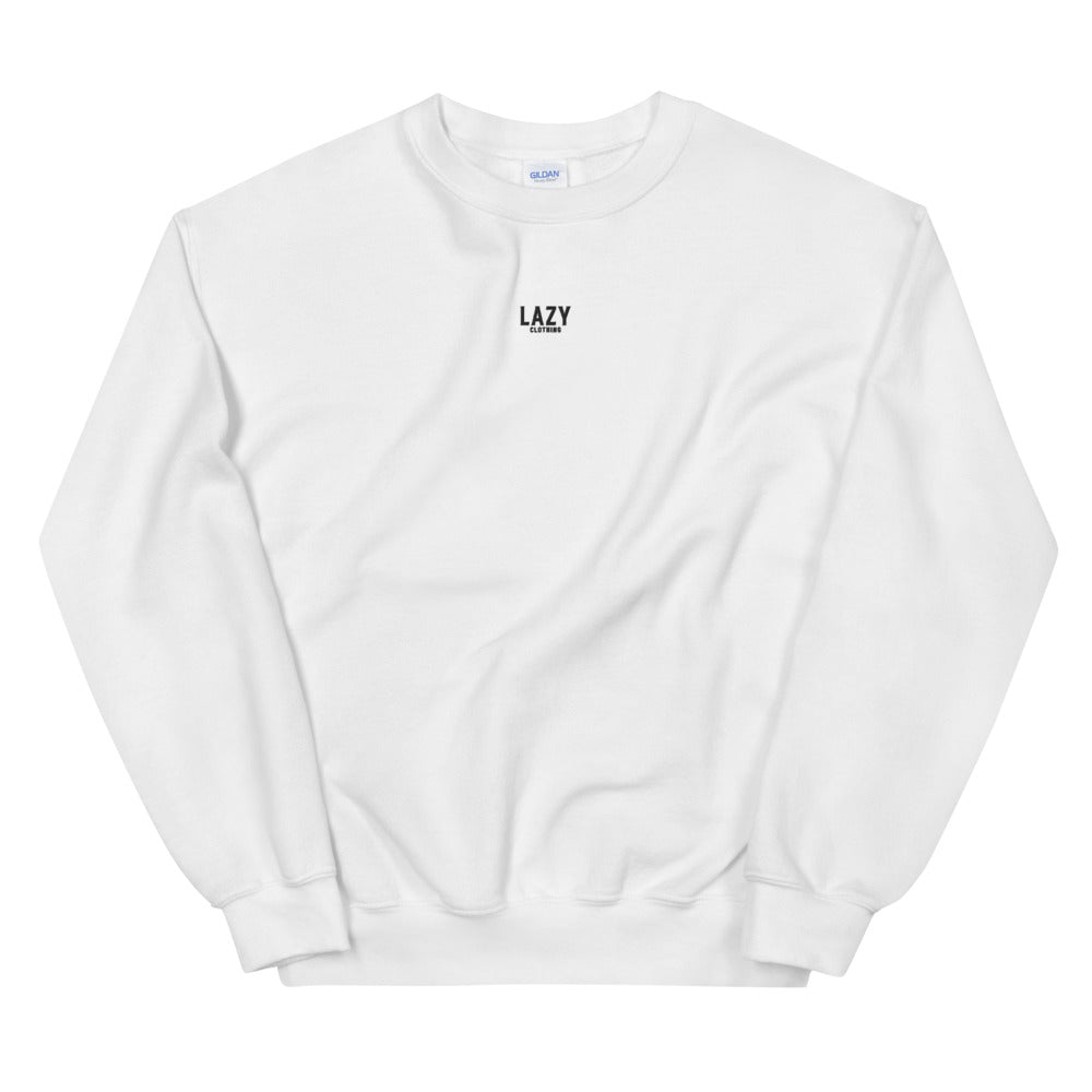 SWEAT-SHIRT LAZY CLOTHING BLANC