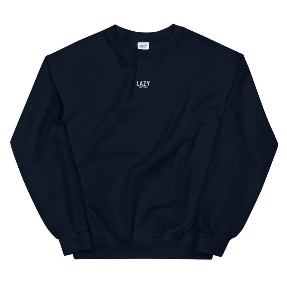 SWEAT-SHIRT LAZY CLOTHING BLEU MARINE