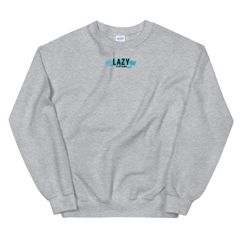 SWEAT-SHIRT LAZY PAINTING GRIS