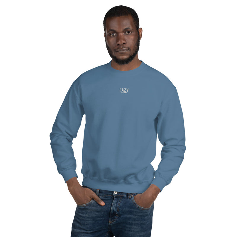 SWEAT-SHIRT LAZY CLOTHING BLEU CLAIR