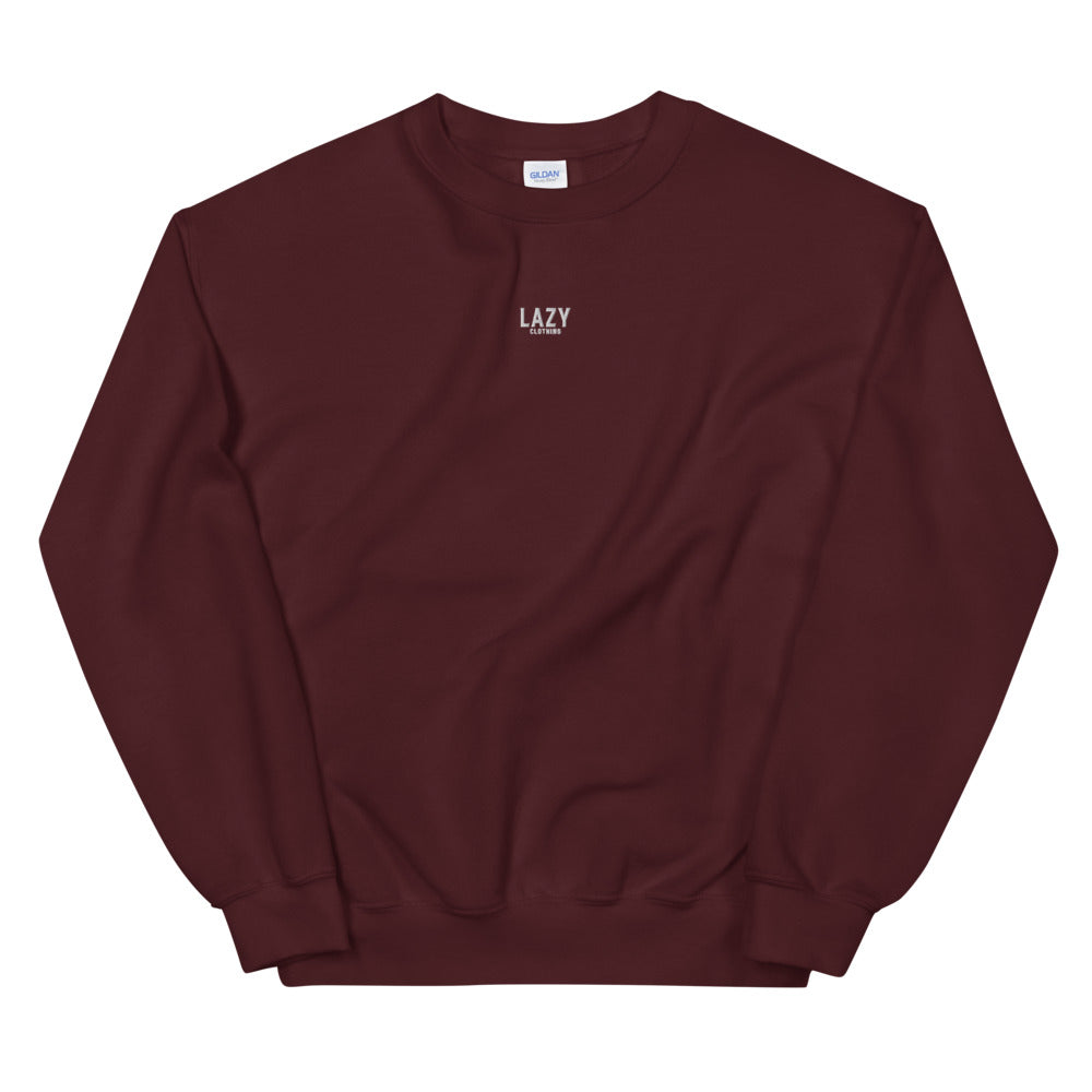 SWEAT-SHIRT LAZY CLOTHING BORDEAUX
