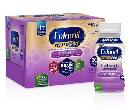 Mead Johnson Enfamil NeuroPro Gentlease Infant Formula 6 oz. Bottle Ready to Use - 898001