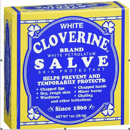 Med-Tech Products White Cloverine Skin Protectant 1 oz. Jar Scented Ointment - 75137030363