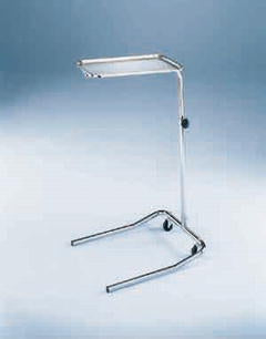 Blickman Blickman Built Mayo Instrument Stand Tray U-Shaped Base 31.5 - 51 Inch 19.125 Inch - 661515000