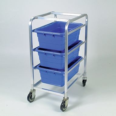 Tote Rack, 3 | Blue | Aluminum/Polyester | Health Care Logistics