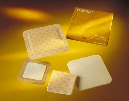 Coloplast Biatain Foam Dressing 5 X 5 Inch Square Hydrocolloid Adhesive with Border Sterile - 3420