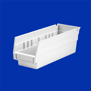 Shelf Bin White