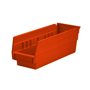 Shelf Bin Red