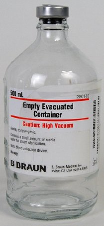 B. Braun Evacuated Container - S9900-10
