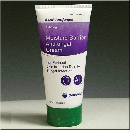 Coloplast Baza Antifungal Skin Protectant 5 oz. Tube Scented Cream CHG Compatible - 1607