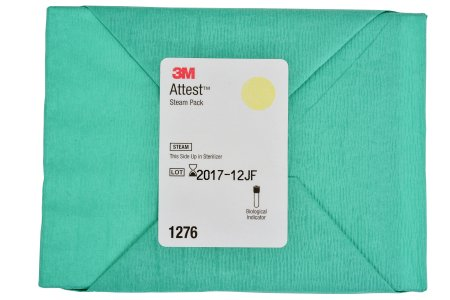 3M Attest Sterilization Biological Indicator Pack Steam - 1276