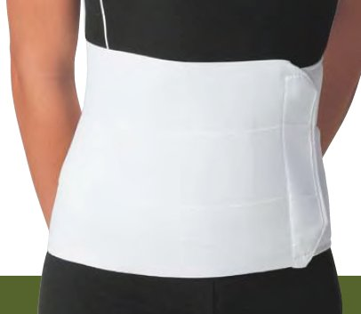 DJO Abdominal Binder Procare Contact Closure, X-Large 62 - 74 Inch