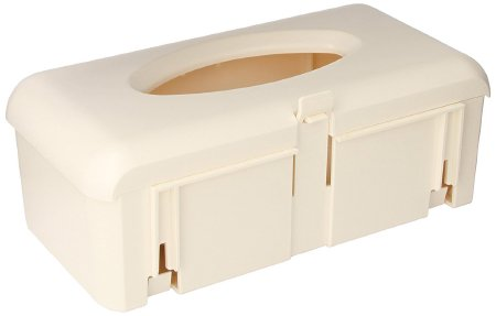 Becton Dickinson BD Glove Box Holder Horizontal Mount 1-Box Ivory 4-1/4 X 7 X 12 Inch Plastic - 305448