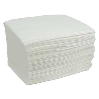 Cardinal Best Value Washcloth 9 X 13-1/2 Inch White Disposable - AT907