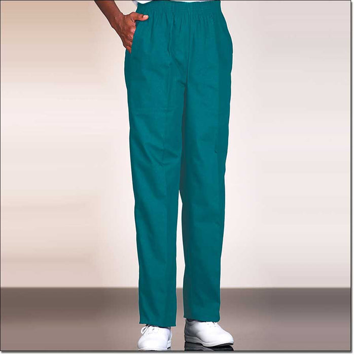 Fashion Seal Healthcare Women's Fashion Poplin Fashion Slacks- Dark Teal