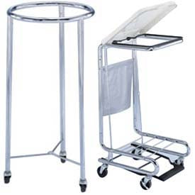 Blickman Blickman Hamper Stand Rolling Round Opening Open Top Without Lid - 927774000