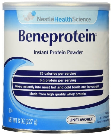 Nestle Healthcare Nutrition Beneprotein Protein Supplement Unflavored 8 oz. Canister Powder - 10043900284108